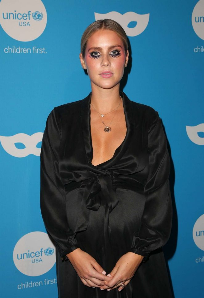 Claire Holt – UNICEF Masquerade Ball 2018 in Los Angeles