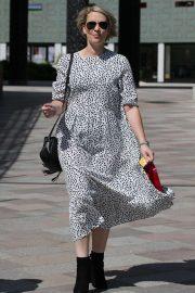 Claire Richards - ITV Studios in London