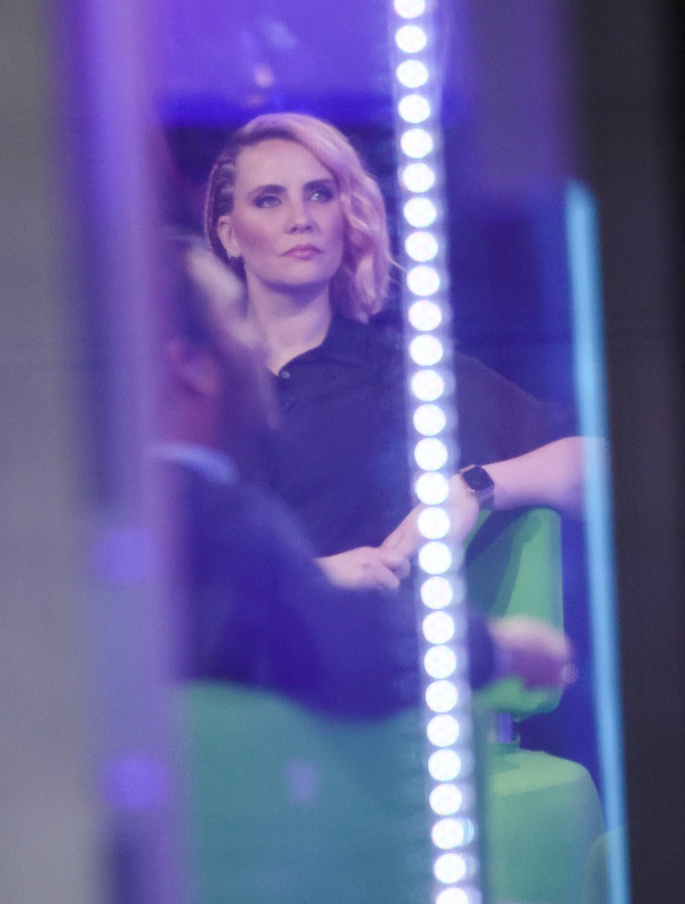 Claire Richards 2021 : Claire Richards – Pictured on BBC The One Show in London-01