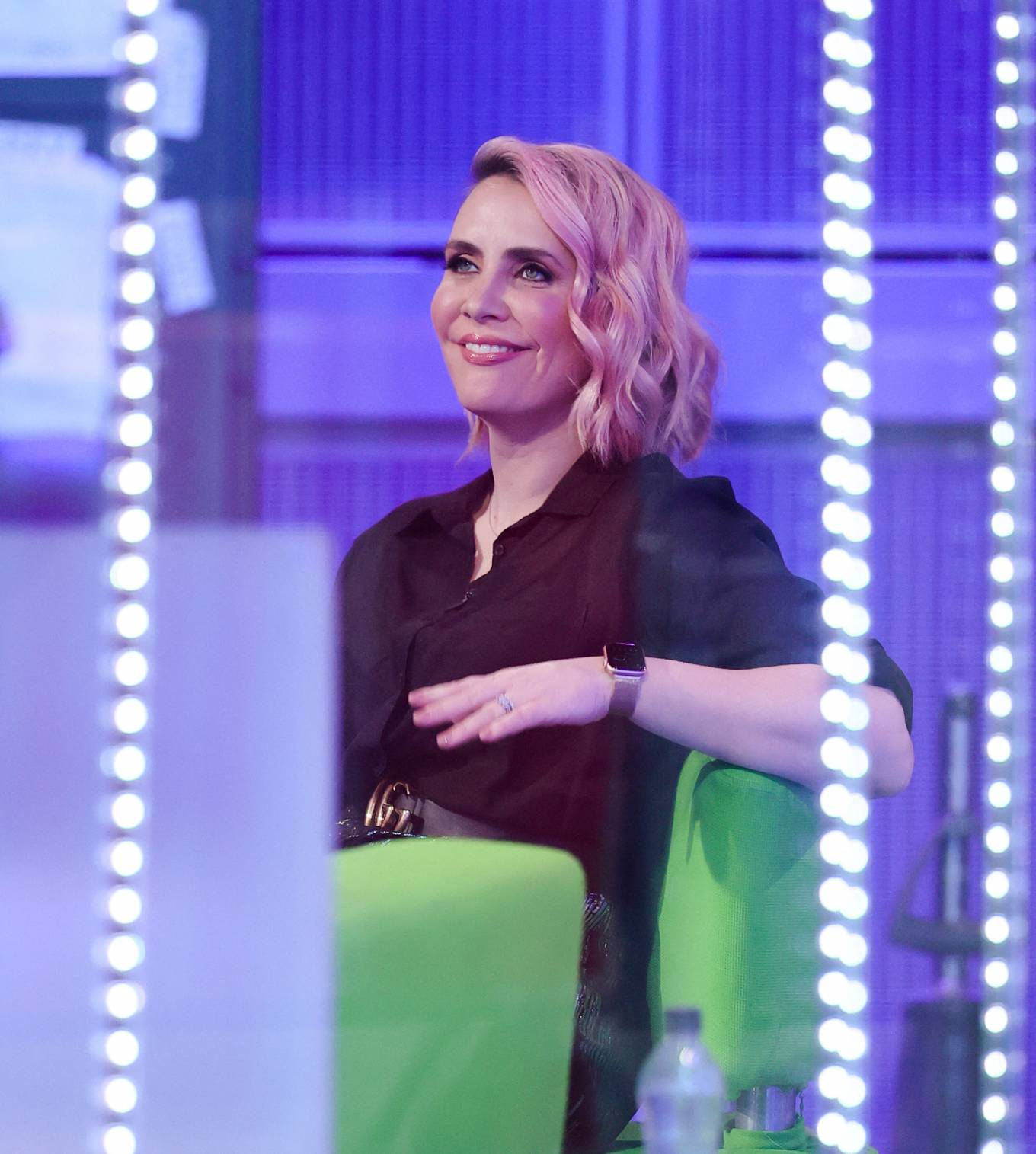 Claire Richards 2021 : Claire Richards – Pictured on BBC The One Show in London-03