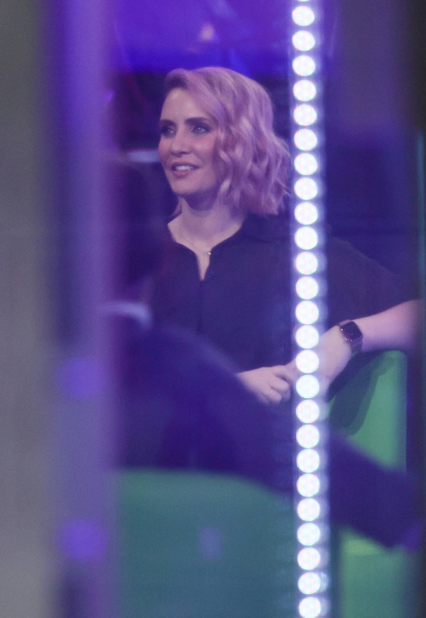 Claire Richards 2021 : Claire Richards – Pictured on BBC The One Show in London-05
