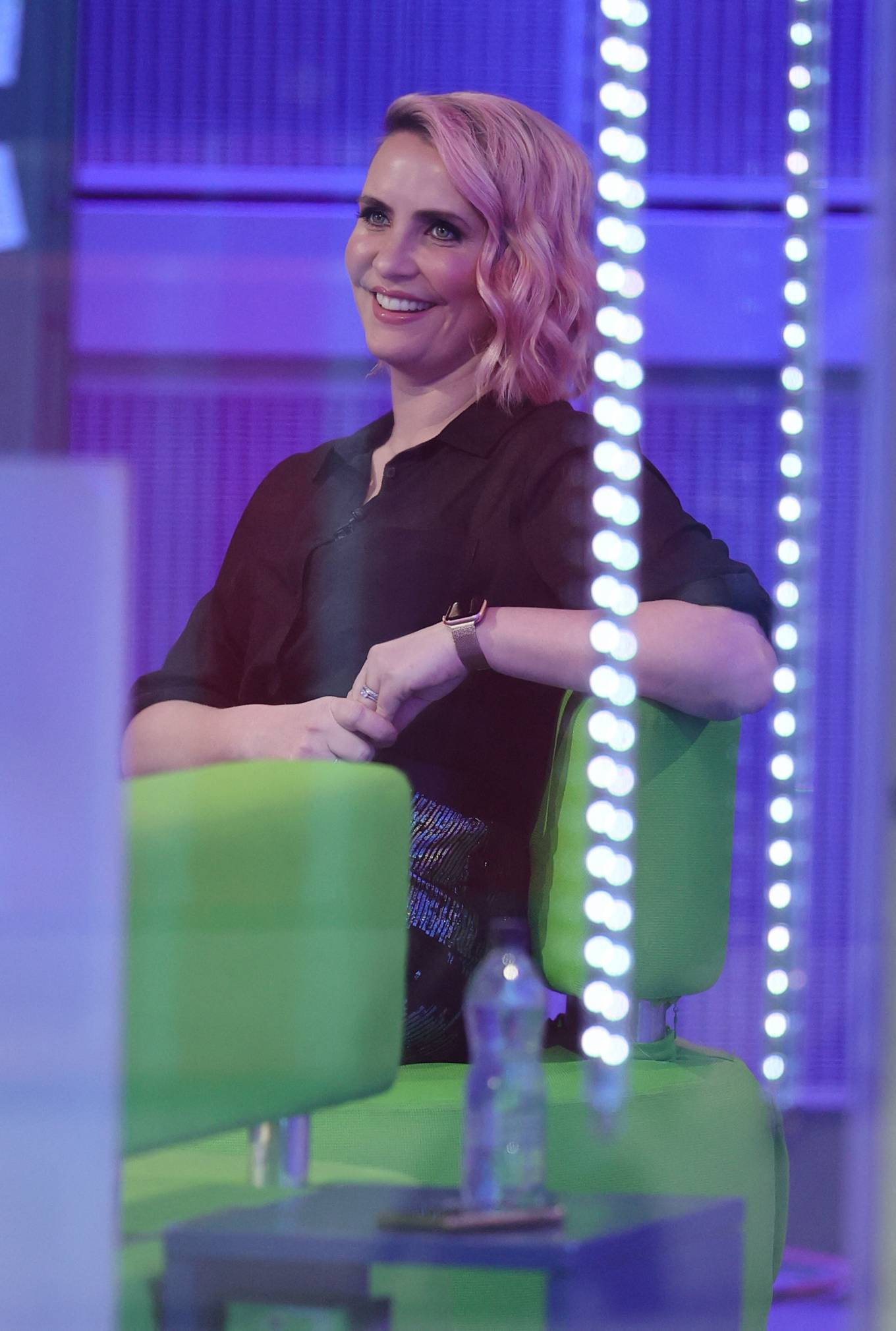 Claire Richards 2021 : Claire Richards – Pictured on BBC The One Show in London-06