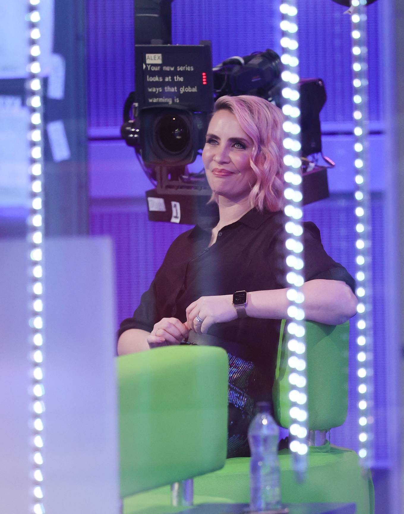 Claire Richards 2021 : Claire Richards – Pictured on BBC The One Show in London-09