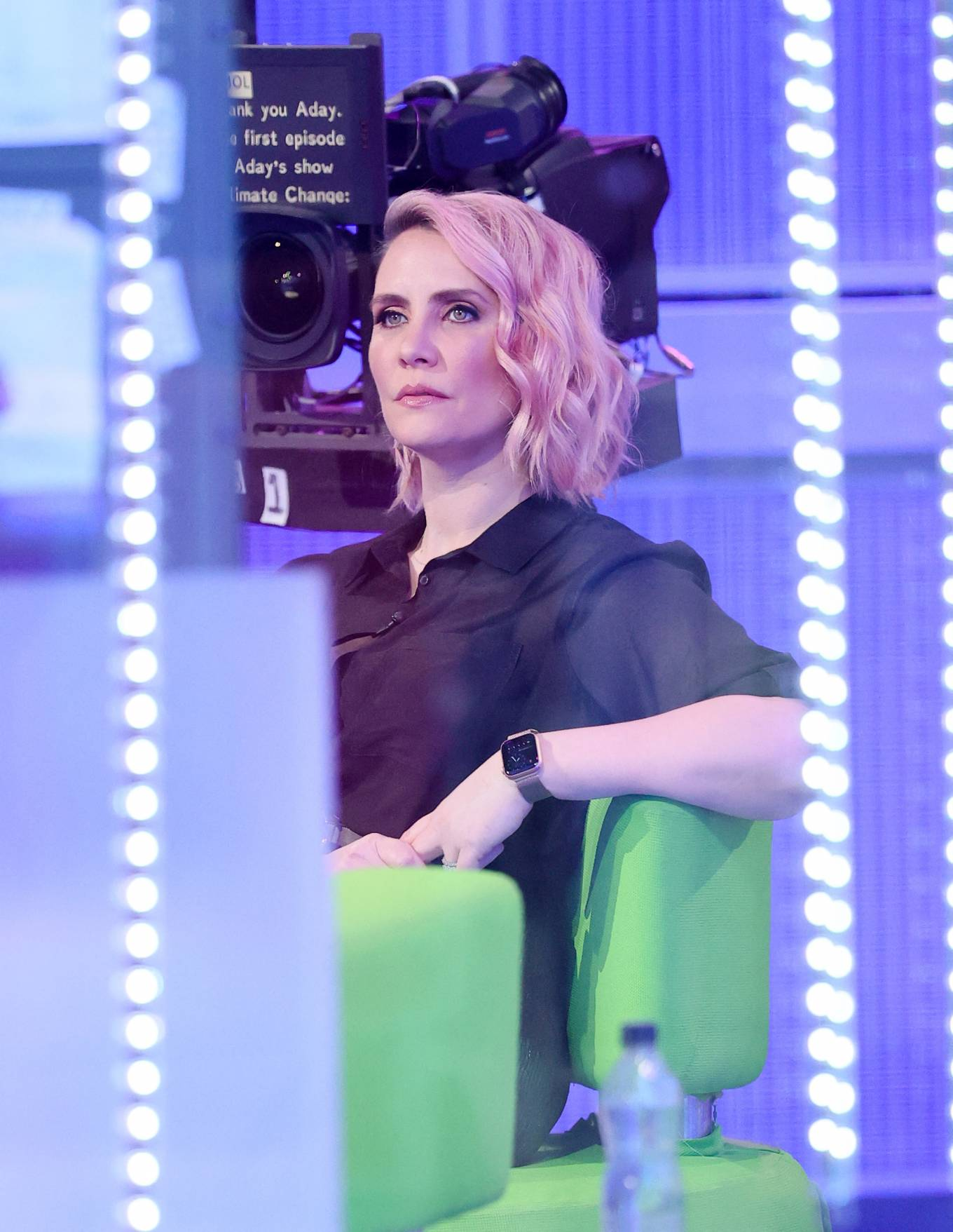 Claire Richards 2021 : Claire Richards – Pictured on BBC The One Show in London-10