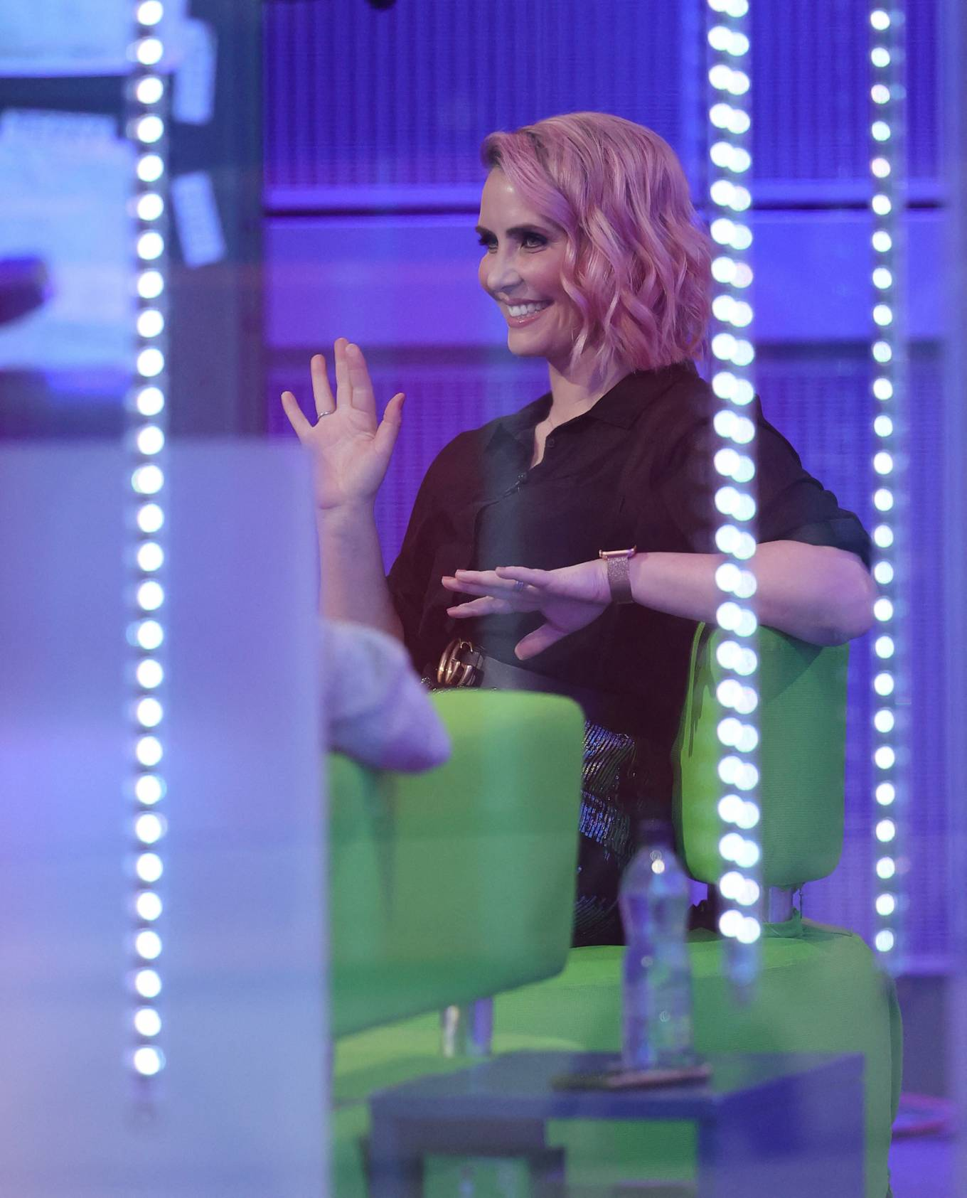 Claire Richards 2021 : Claire Richards – Pictured on BBC The One Show in London-11