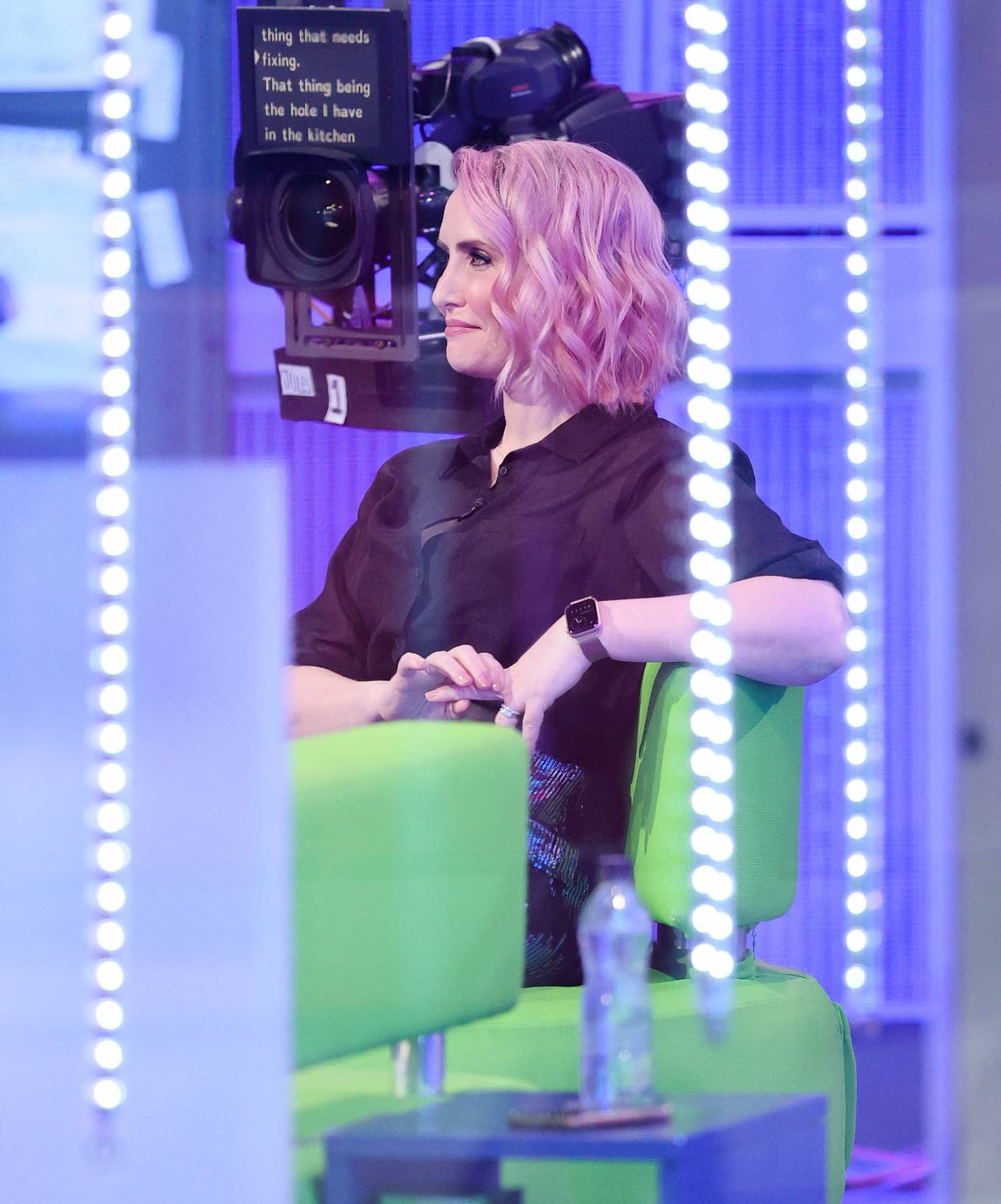 Claire Richards 2021 : Claire Richards – Pictured on BBC The One Show in London-13