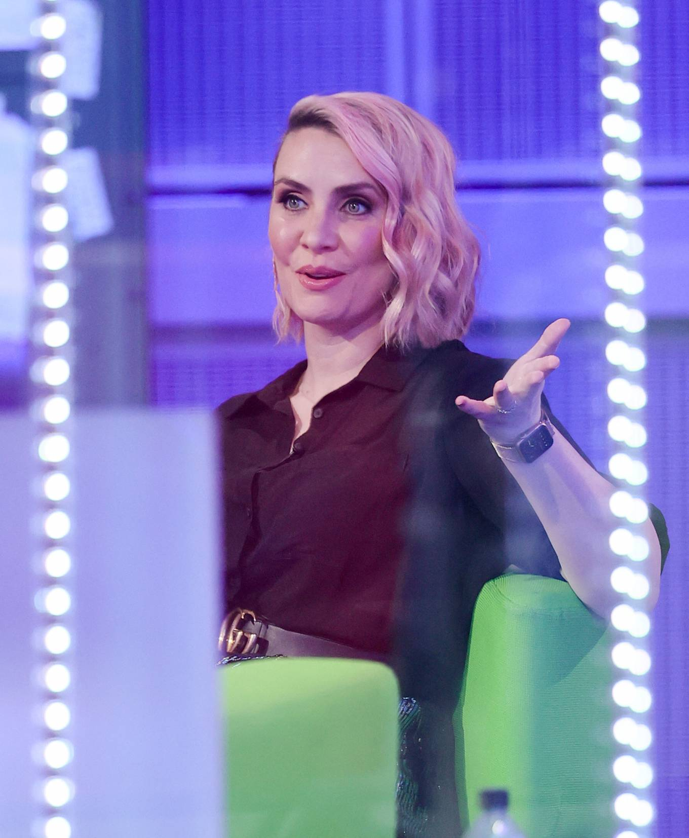 Claire Richards 2021 : Claire Richards – Pictured on BBC The One Show in London-14