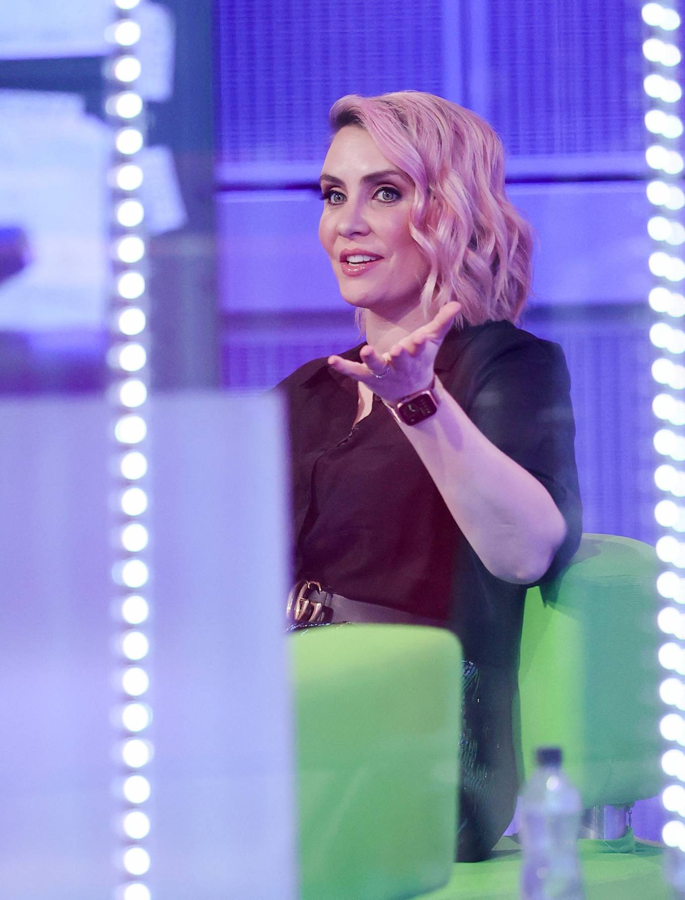 Claire Richards 2021 : Claire Richards – Pictured on BBC The One Show in London-15