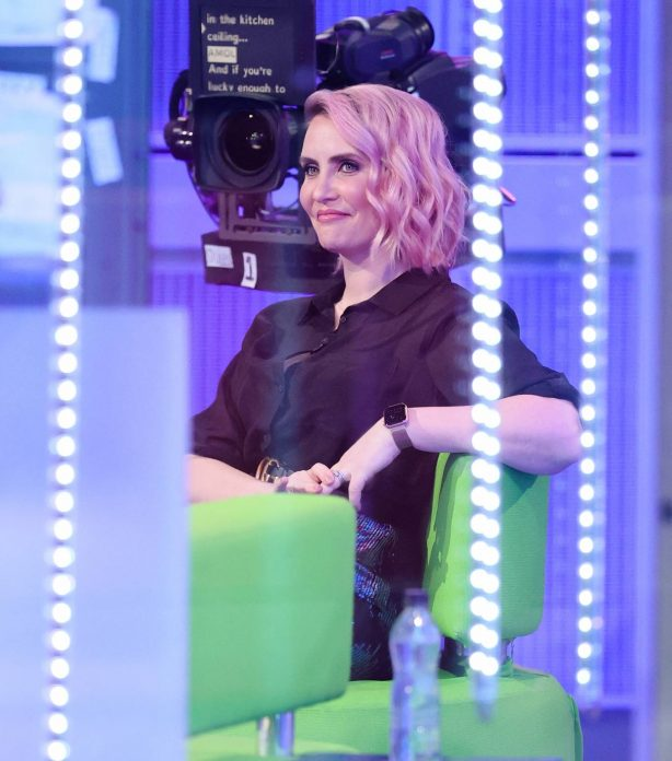 Claire Richards - Pictured on BBC The One Show in London