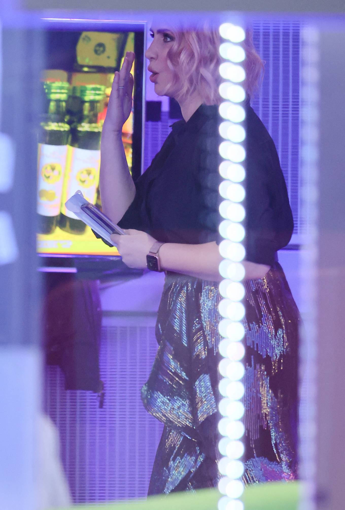 Claire Richards 2021 : Claire Richards – Pictured on BBC The One Show in London-21