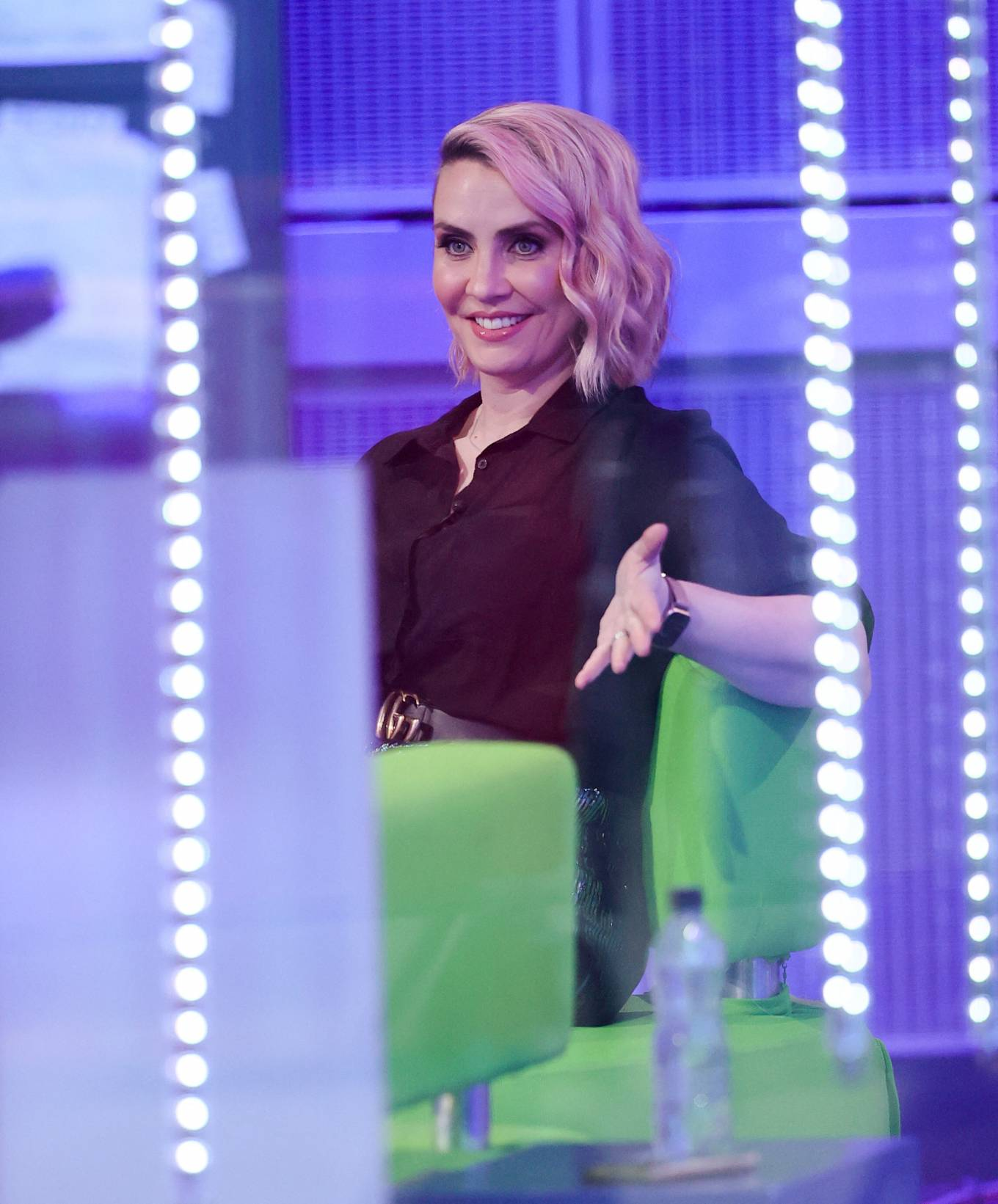 Claire Richards 2021 : Claire Richards – Pictured on BBC The One Show in London-22