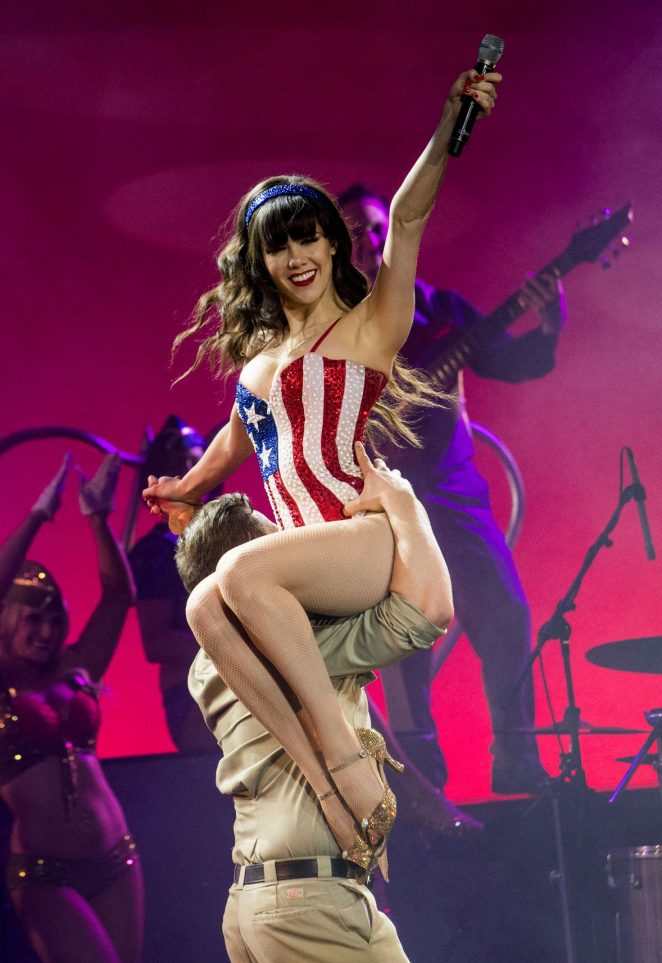 Claire Sinclair - Final show of 'Pin Up' in Las Vegas