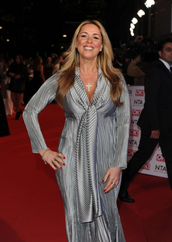 Claire Sweeney - 2015 National Television Awards in London