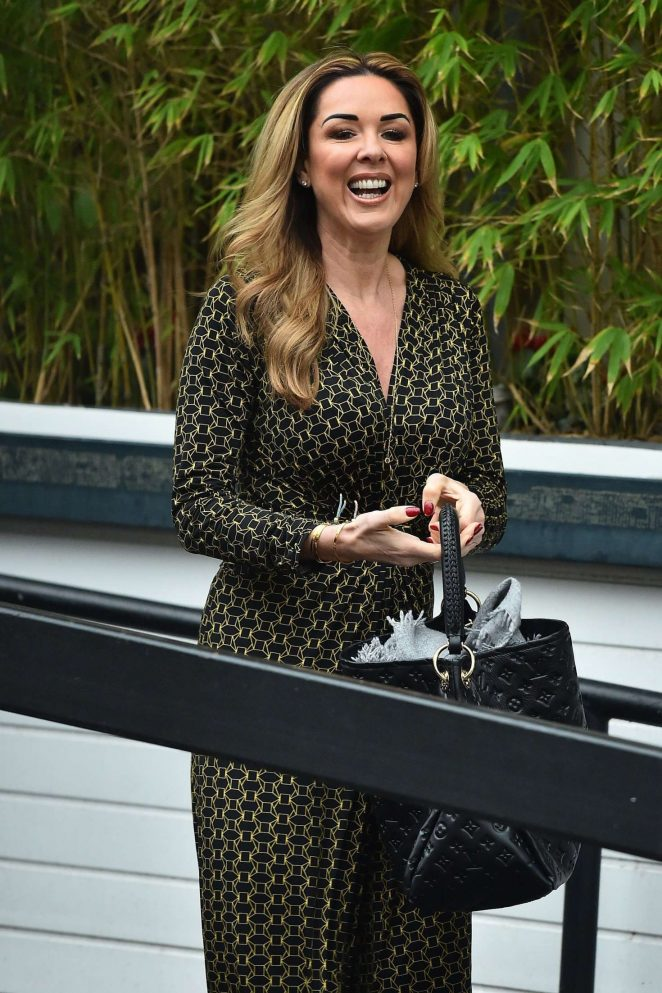 Claire Sweeney at ITV Studios in London
