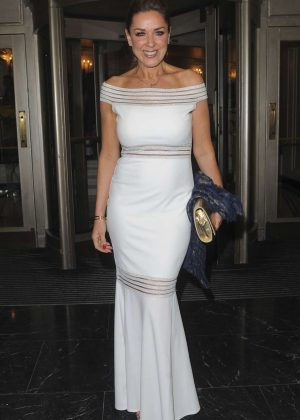 Claire Sweeney at The Dorchester Hotel in London