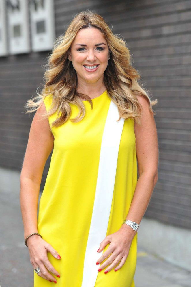 Claire Sweeney at the ITV Studios in London