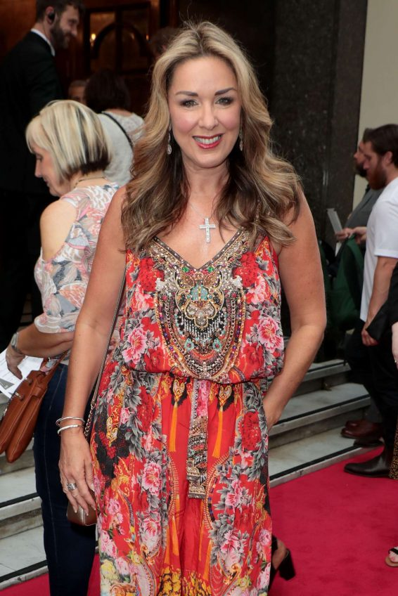 Claire Sweeney - Joseph and the Amazing Technicolor Dreamcoat Press Night in London