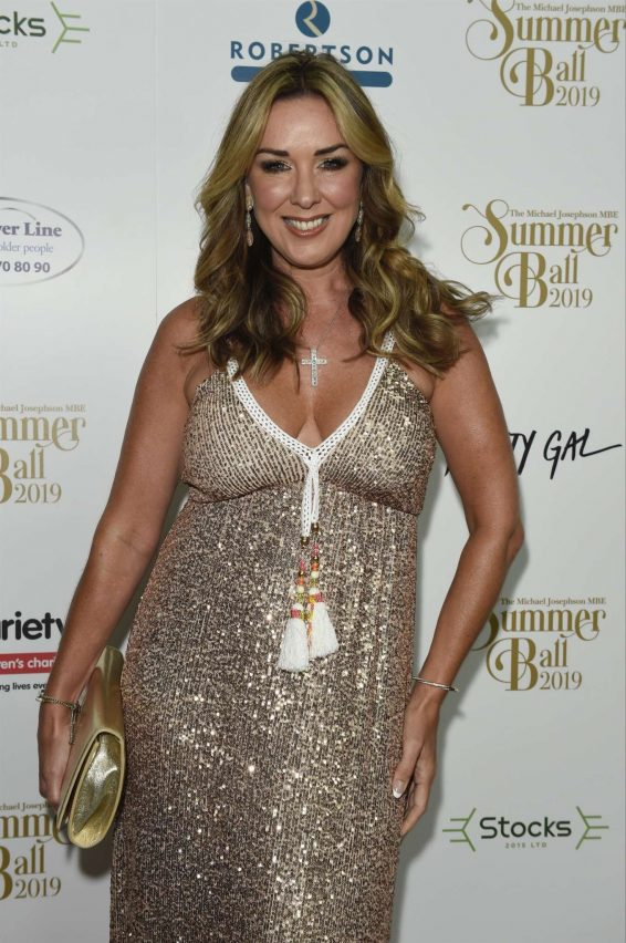 Claire Sweeney - Michael Josephson MBE Summer Ball 2019 in Manchester