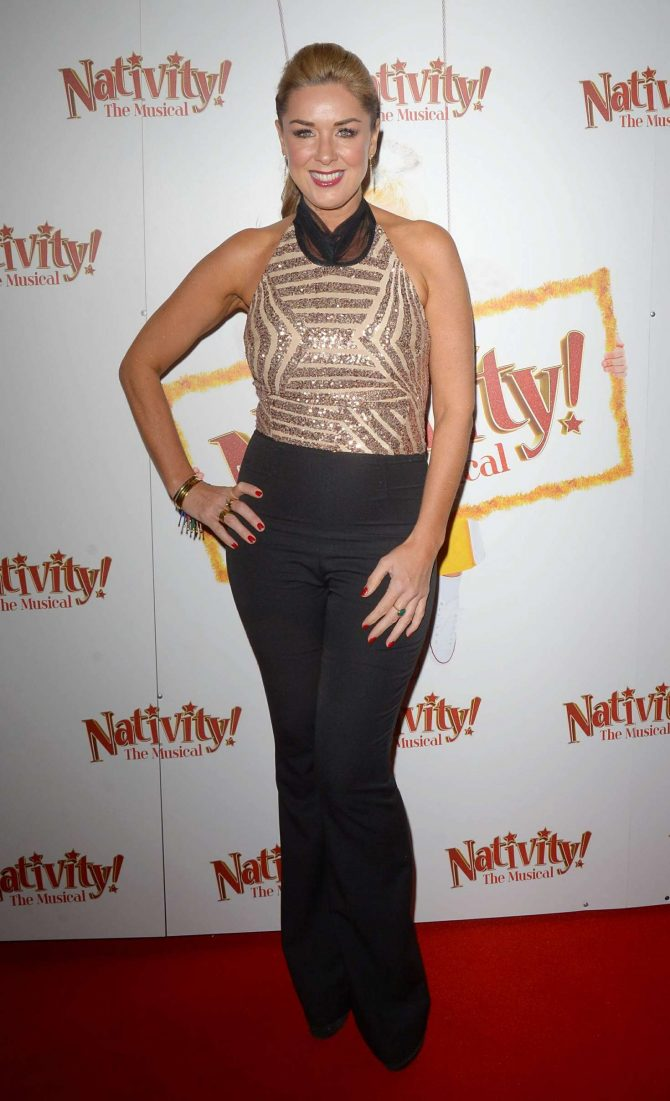 Claire Sweeney - 'Nativity The Musical' Gala Night in London