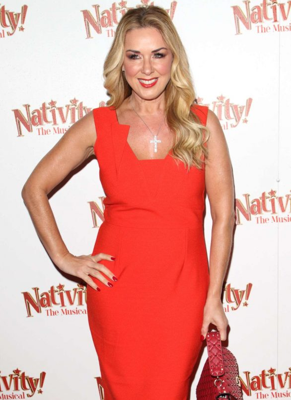 Claire Sweeney - 'Nativity! The Musical' Press Night Performance in London