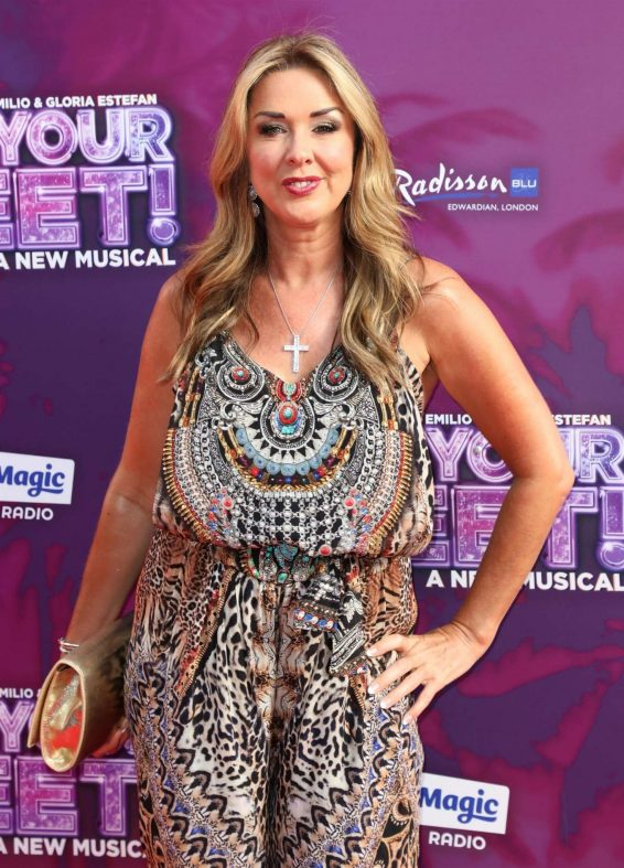 Claire Sweeney - On Your Feet! A New Musical Press Night in London