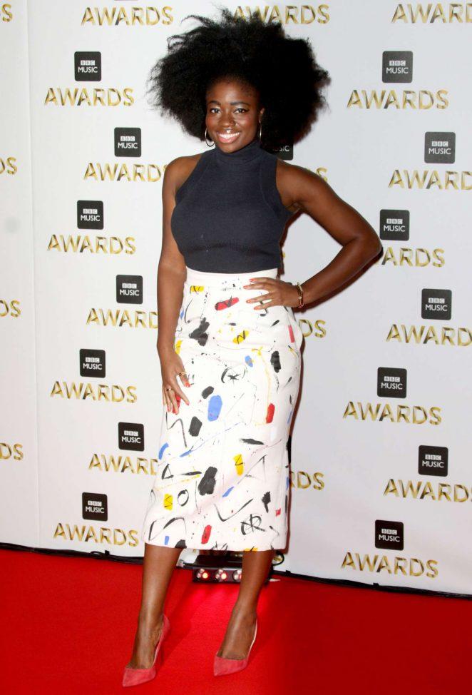 Clara Amfo - BBC Music Awards 2016 in London