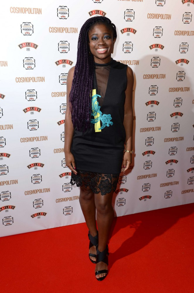 Clara Amfo - Cosmopolitan Ultimate Women Of The Year Awards 2015 in London