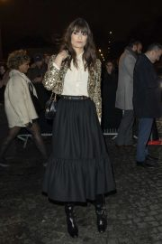Clara Luciani - Attends the Celine Show in Paris