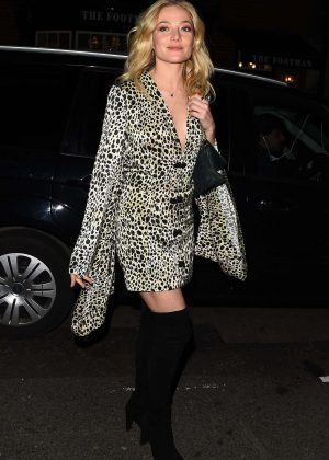 Clara Paget - Arrives at Mark's Club for a Vogue Dinner in London