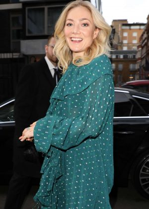 Clara Paget - Arrives at Mulberry Show 2018 in London