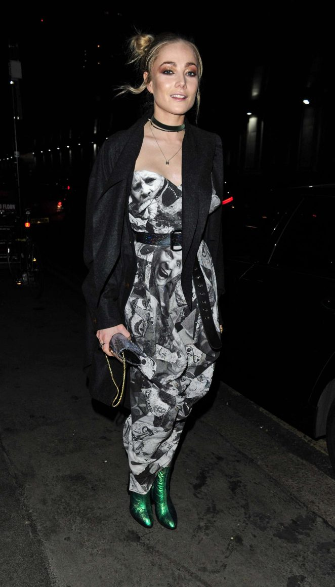 Clara Paget at Vivienne Westwood and James Jagger's Mad Max Party in London