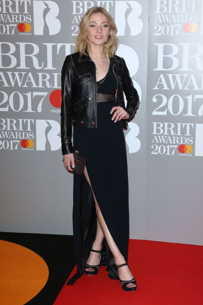 Clara Paget - BRIT Awards 2017 in London