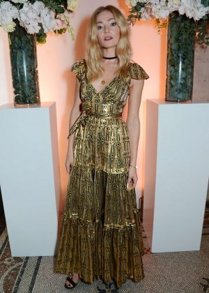 Clara Paget - British Vogue One Year Anniversary Celebration in London