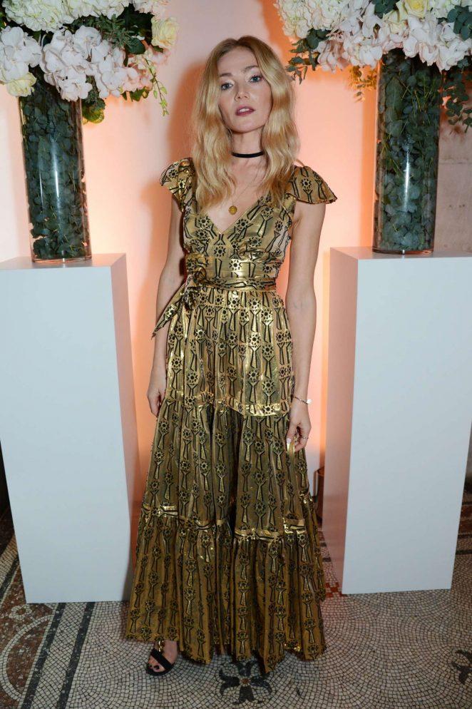 Clara Paget – British Vogue One Year Anniversary Celebration in London