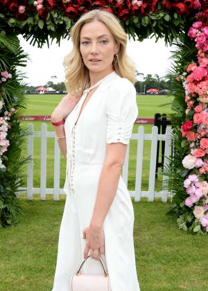 Clara Paget - Cartier Queens Cup Polo in Windsor