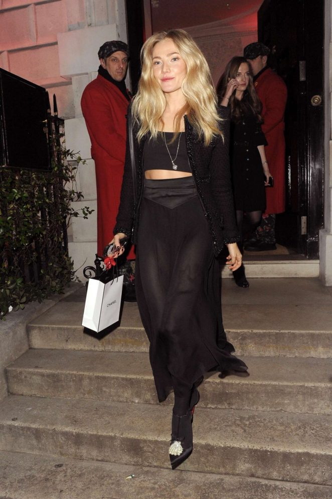 Clara Paget – Chanel No. 5 Party in London