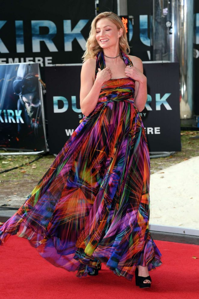 Clara Paget: Dunkirk Premiere in London -03