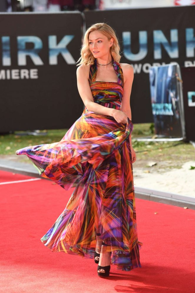 Clara Paget: Dunkirk Premiere in London -13
