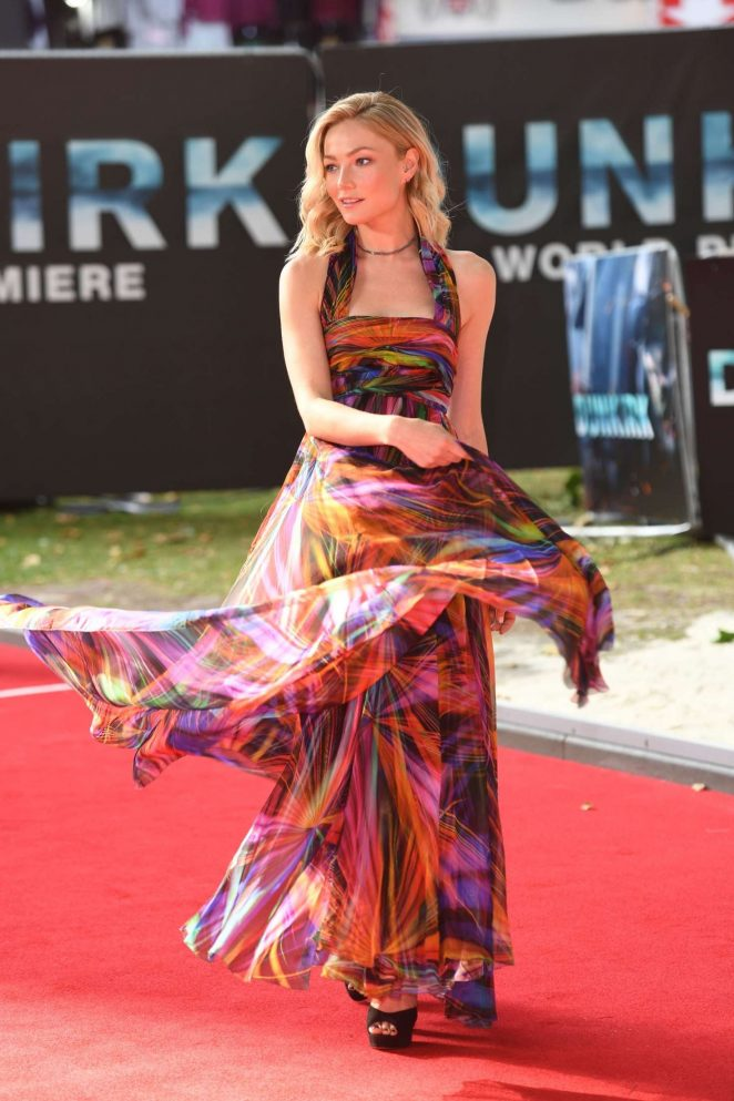 Clara Paget: Dunkirk Premiere in London -31
