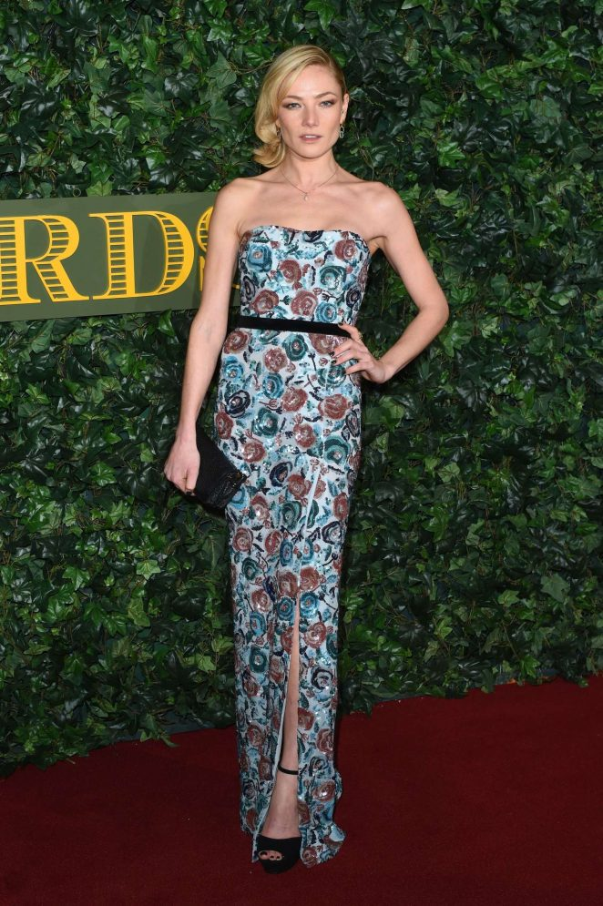 Clara Paget - Evening Standard Theatre Awards 2016 in London