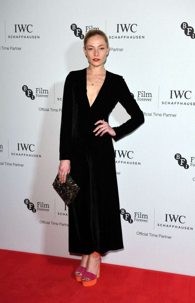 Clara Paget - IWC Schaffhausen Dinner in Honour of the BFI in London