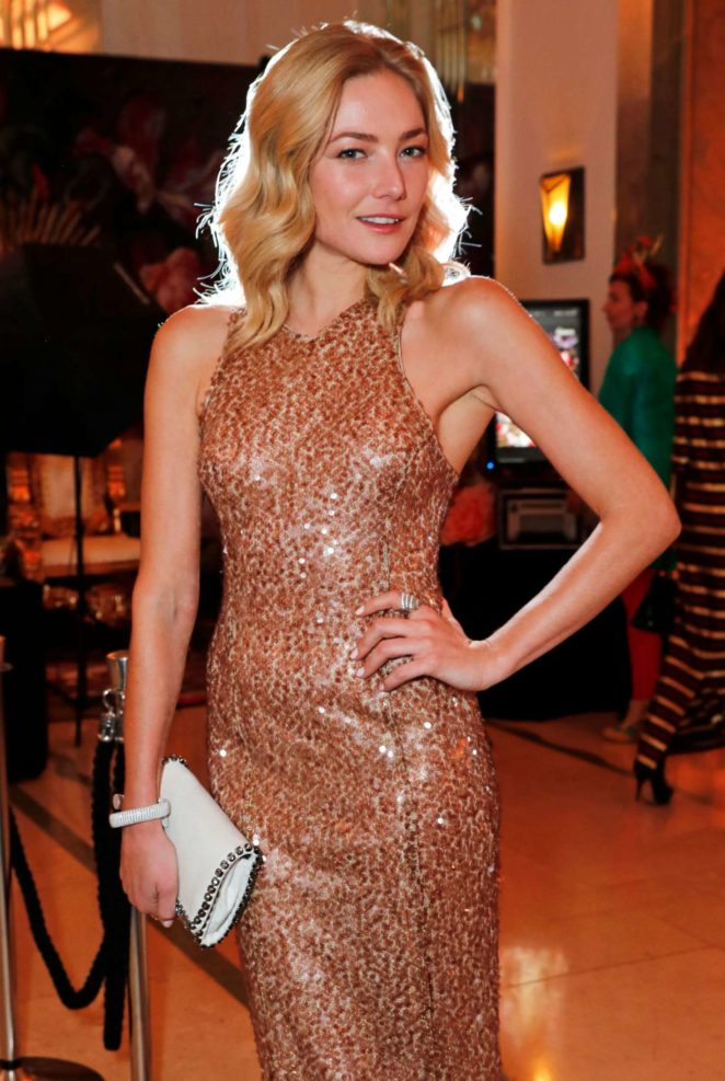 Clara Paget - Lady Garden Gala in aid of Silent No More Gynaecological Cancer Fund and Cancer Research UK in London