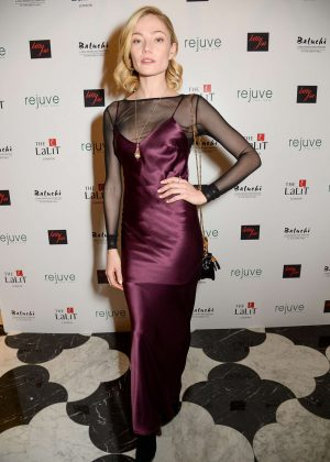 Clara Paget - Lalit Hotel Launch Party in London