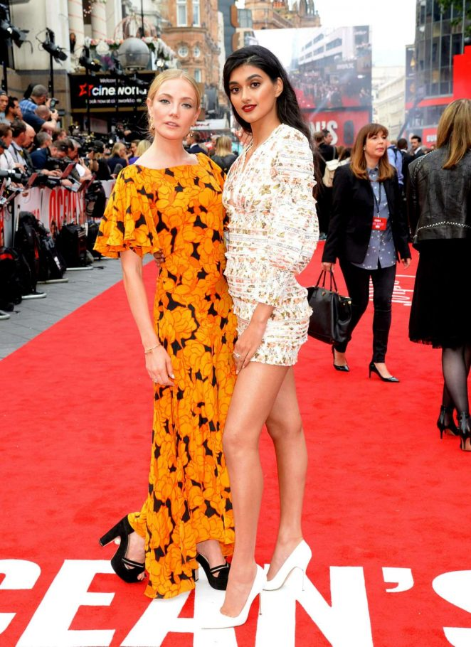 Clara Paget - Oceans 8 premiere photocall in London