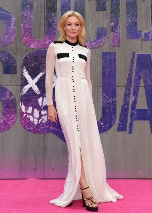 Clara Paget - 'Suicide Squad' Premiere in London