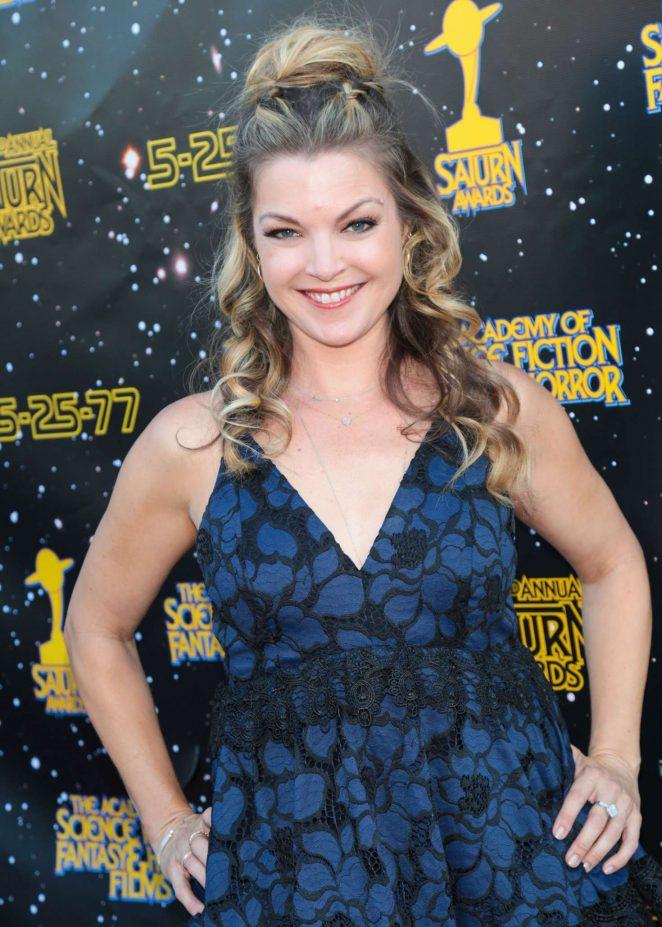 Clare Kramer - 43rd Annual Saturn Awards in Burbank