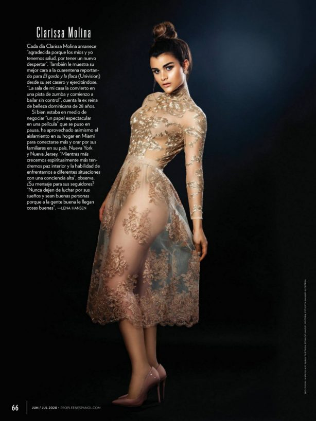 Clarissa Molina - People Spain Magazine (June 2020)
