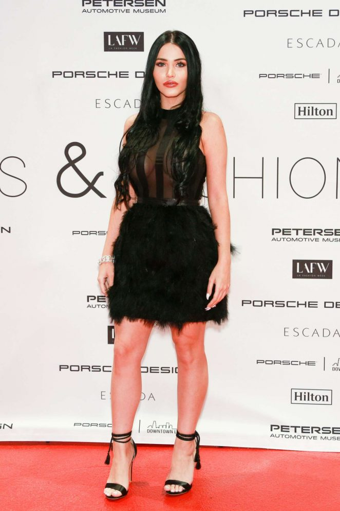 Claudia Alende – Cars and Fashion Event in Los Angeles
