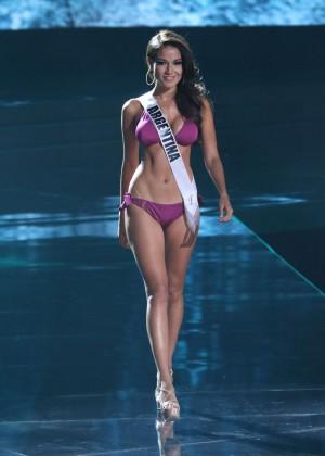 Claudia Barrionuevo - Miss Universe 2015 Preliminary Round in Las Vegas