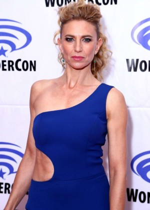 Claudia Black - 'Containment' Panel at WonderCon 2016 in Los Angels